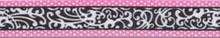 "Chantilly Pink Roman Style ""H"" Dog Harness"