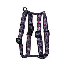 "Celtic Cross Roman Style ""H"" Dog Harness"