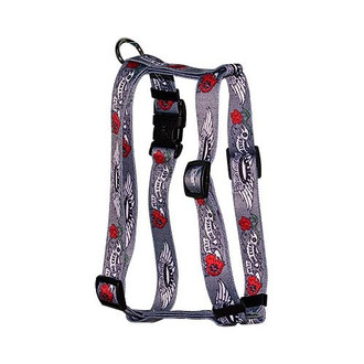 """Best Dog Ever Roman Style """"H"""" Dog Harness"""