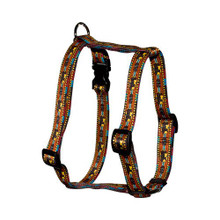 "Bear Lodge Roman Style ""H"" Dog Harness"