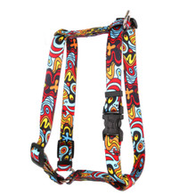 "Abstract Roman Style ""H"" Dog Harness"