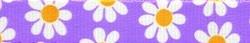 Lavender Daisy Ding Dog Bells Potty Training System