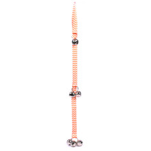 Chevron - Tangerine Ding Dog Bells Potty Training System