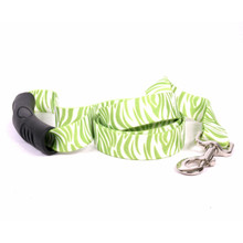 Zebra Green EZ-Grip Dog Leash