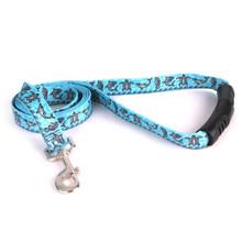 Tribal Seas Blue EZ-Grip Dog Leash