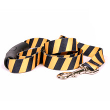 Team Spirit Yellow and Black EZ-Grip Dog Leash