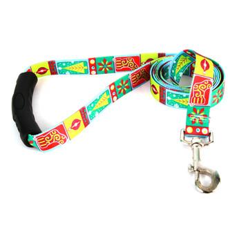 Retro Christmas EZ-Grip Dog Leash