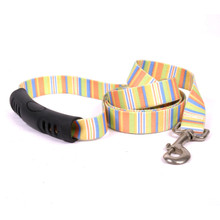 Melon Stripes EZ-Grip Dog Leash