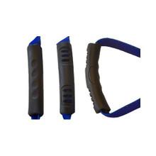 I Luv My Dog Blue EZ-Grip Dog Leash