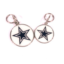 Dallas Cowboys NFL Dog Tags With Custom Engraving