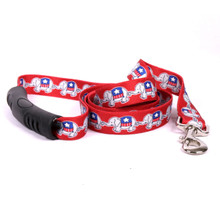 GOP Elephants EZ-Grip Dog Leash
