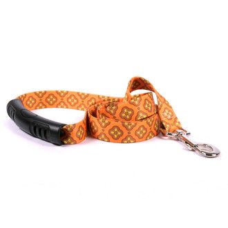 Cleo Orange EZ-Grip Dog Leash