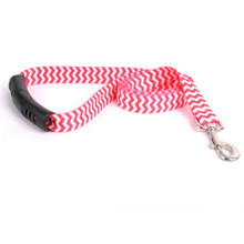 Chevron - Strawberry EZ-Grip Dog Leash