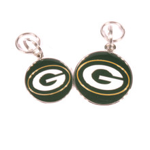 Green Bay Packers NFL Dog Tags With Custom Engraving