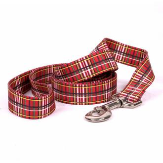 Tartan Red Dog Leash