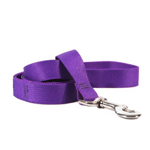 Solid Purple Dog Leash