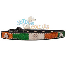 Irish Shamrock SPIRIT Dog Collar ** CLEARANCE **