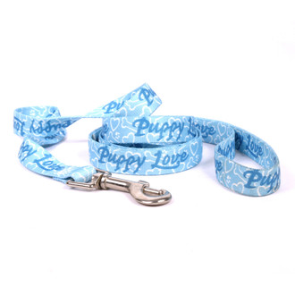 Puppy Love Blue Dog Leash