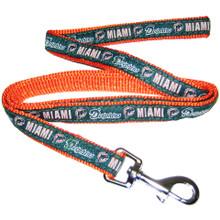 Miami Dolphins Dog Leash