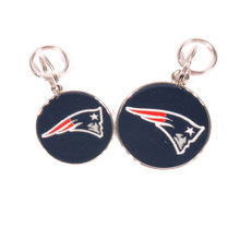 New England Patriots NFL Dog Tags With Custom Engraving