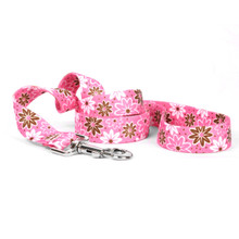 Daisy Chain Pink Dog Leash