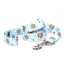Daisy Chain Blue Dog Leash
