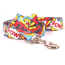 Comic Print Dog Leash