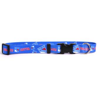 NY Rangers Dog Collar