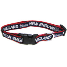 New England Patriots Dog Collar