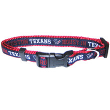 Houston Texans Dog Collar