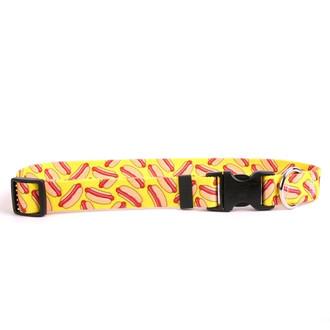 Hot Dogs Dog Collar