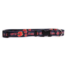 Calgary Flames Dog Collar
