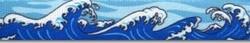 Mystic Waves Blue Waist Walker