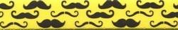 Mustaches On Yellow Waist Walker