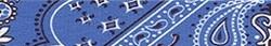 Bandana Blue Groomer Loop