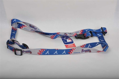 Atlanta Braves Dog Harness
