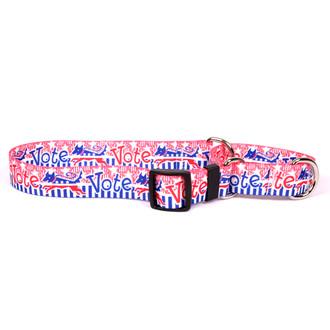 Voter Dog Martingale Dog Collar