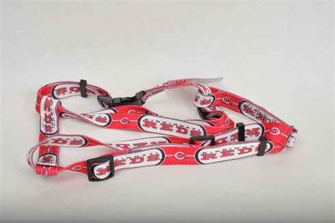 Cincinnati Reds Dog Harness