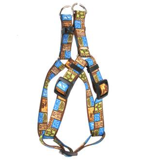 Tiki Print Step-In Dog Harness