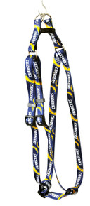 San Diego Chargers Step-In Dog Harness