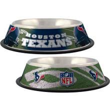 Houston Texans Stainless Steel NFL Dog Bowl