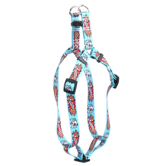 I Luv My Dog Blue Step-In Dog Harness