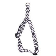 Chevron - Licorice Step-In Dog Harness