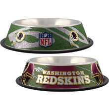 Washington Redskins Stainless Steel NFL Dog Bowl