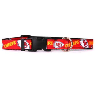 Kansas City Chiefs Premium Grosgrain Collar