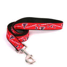 Atlanta Falcons Premium Grosgrain Dog Leash