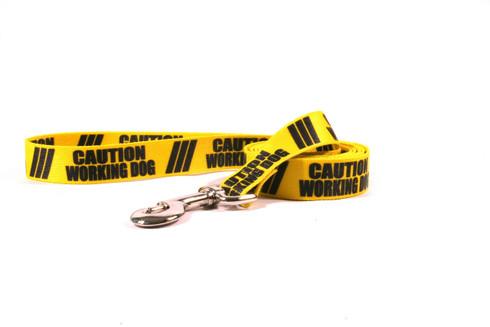 Caution Working Dog Dog Leash