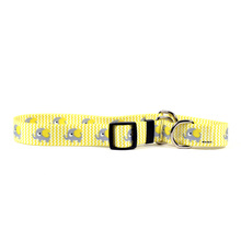 Yellow Elephants Martingale Dog Collar