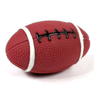 Official Hot Dog Football Squeaker Toy