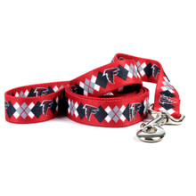 Atlanta Falcons Argyle Dog Leash